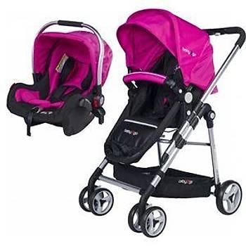 Baby 2 Go 6035 Fidello Travel Puset - Pembe