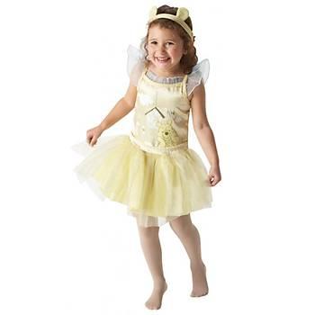 Winnie The Pooh Balerin 3-4 Yaþ Çocuk Kostüm