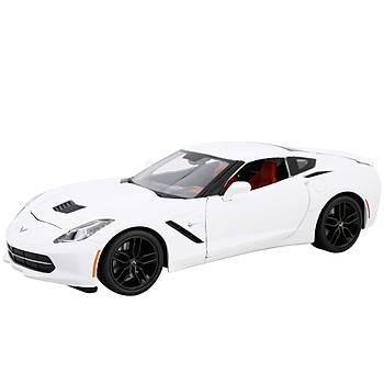 Maisto 2014 Corvette Stingray Z51 S/E 1:18 Model Araba