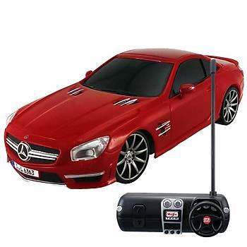 Maisto Tech 1:24 Mercedes-Benz SL Amg 63 U/K Araba Kýrmýzý