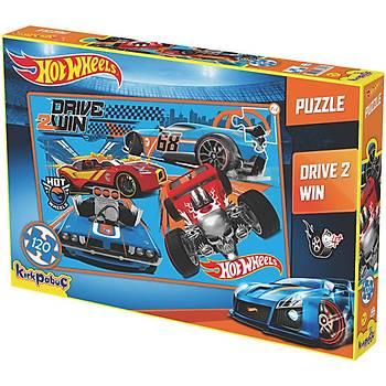 Kýrkpapuç Hot Wheels Drive 2 Win Çocuk Puzzle