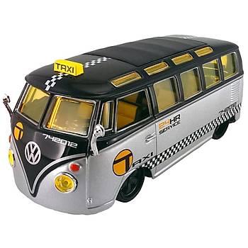 Maisto Volkswagen Van Samba 1:25 Model Araba P/R