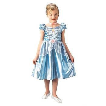 Prenses Cinderella Çocuk Kostüm Klasik 5-6 Yaþ