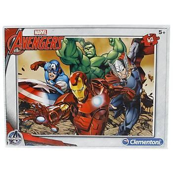 Clementoni Marvel Avengers 60 Parça Eko Çocuk Puzzle