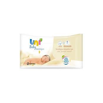 Uni Baby Yenidoðan Islak Pamuk Mendil 6lý Avantaj Paketi 240 Yaprak