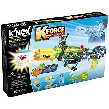 K'Nex K-Force Super Strike Rotoshot Blaster Yapý Seti  Knex 47009