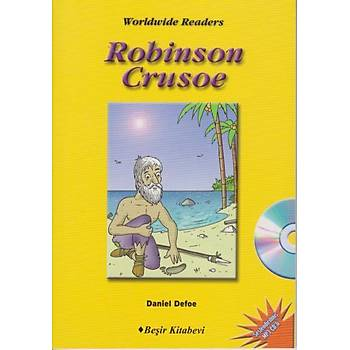 Level-6: Robinson Crusoe (Audio CD'li) Daniel Defoe Beþir Kitabevi