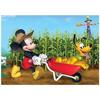 Ks Puzzle Mickey Mouse Çocuk  Puzzle 100 Parça