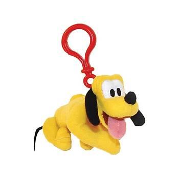 Pluto Klipsli Peluþ Anahtarlýk 12 cm