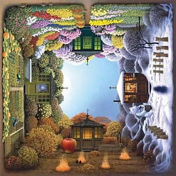 Anatolian 1024 Parça Puzzle Dört Mevsim