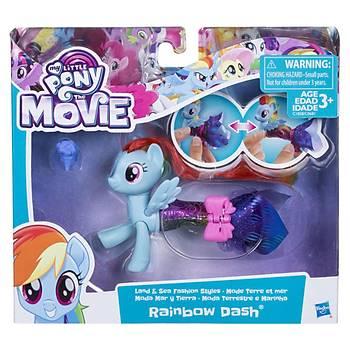 My Little Pony Deðiþebilen Deniz Pony'leri Rainbow Dash
