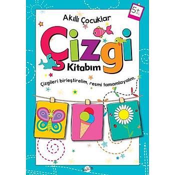 Akýllý Çocuklar-Çizgi Kitabým 5 Yaþ Kukla Yayýnlarý Kolektif Kukla Yayýnlarý