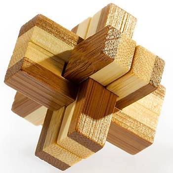 Eureka Bamboo Puzzle Knotty 3D Puzzle
