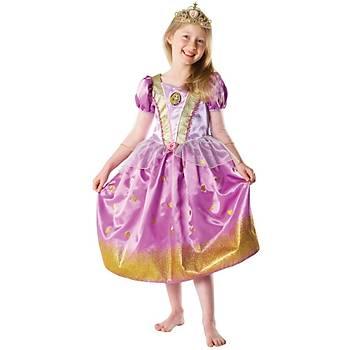 Rapunzel Çocuk Kostüm 3-4 Yaþ Glitter