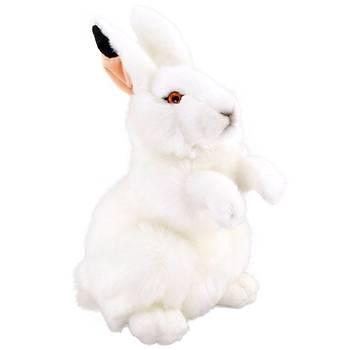 Animals Of The World Beyaz Tavþan Peluþ Oyuncak 28 cm