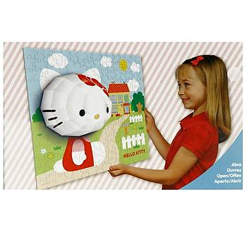 Mega Puzzle 140 Parça 3 Boyutlu Puzzle Breakthrough Hello Kitty