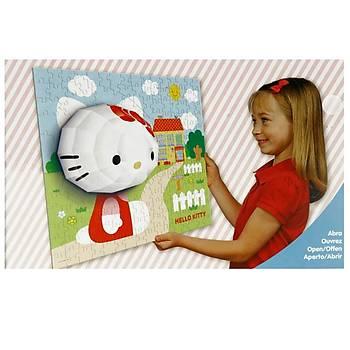 Mega Puzzle 140 Parça 3 Boyutlu Puzzle Breakthrough Hello Kitty