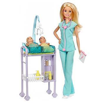 Barbie Ben Büyüyünce Meslek Bebekleri Bebek Doktoru Oyun Seti