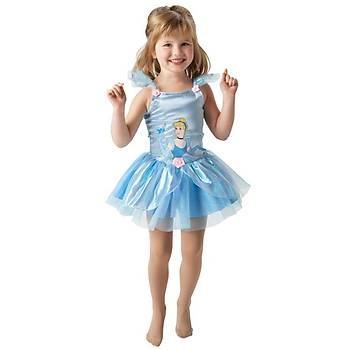 Prenses Cinderella Balerin Çocuk Kostüm 2-3 Yaþ