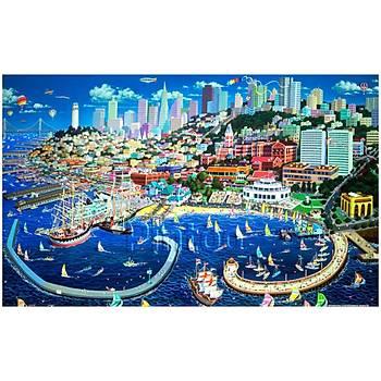 Pintoo 1000 Parça Puzzle San Francisco