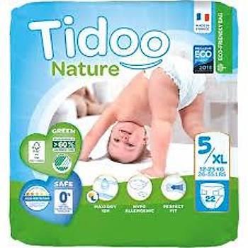 Tidoo Antialerjik-Ekolojik Bebek Bezi No:6 Junior Single 12-25 Kg 22 Adet