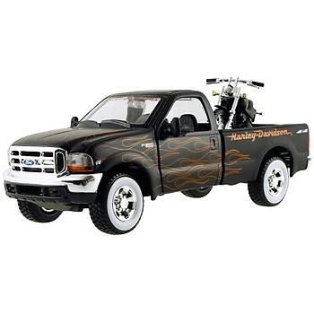 Maisto 1999 Ford F-350 Süper Duty Pick Up Diecast Araba