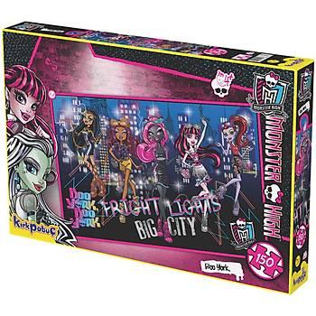 Kýrkpapuç Monster High Boo York Çocuk Puzzle
