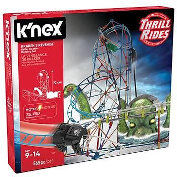 K'Nex Krakens Revenge Roller Coaster 17616 (Motorlu)
