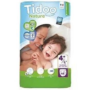 Tidoo Antialerjik-Ekolojik Bebek Bezi No:4 Jumbo Maxi 9-20 Kg 48 Adet