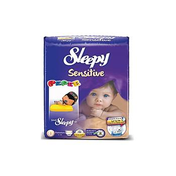 Sleepy Sensitive Prematüre Pepee 40 Adet (0-3 Kg) No: 0