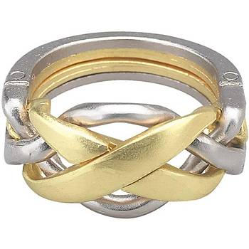 Eureka Cast 3D Puzzle Ring