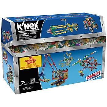 K'Nex 35 Farklý Ultimate Model Building Set Knex 12418