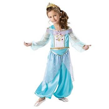 Jasmine Çocuk Kostüm Sparkle 5-6 Yaþ