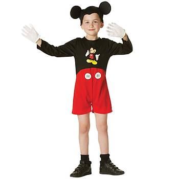 Mickey Mouse Klasik Çocuk Kostüm 3-4 Yaþ
