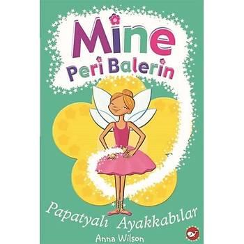 Mine Peri Balerin 2-Papatyalý Ayakkabýlar Anna Wilson Beyaz Balina Yayýnlarý