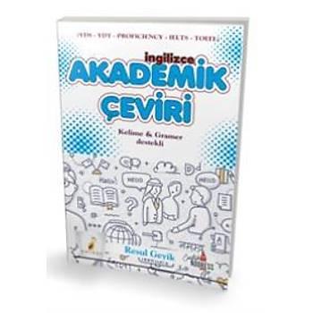 Ýngilizce Akademik Çeviri - Kelime-Gramer Destekli Resul Geyik Pelikan Yayýncýlýk