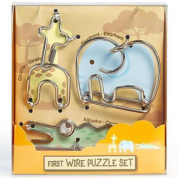 Eureka First Wire Animal 2 Set 3D Puzzle