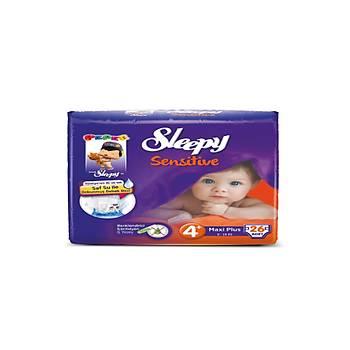 Sleepy Sensitive Pepee Maxi Plus 4+ Numara 26 Adet