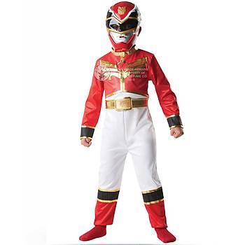 Power Rangers Red Ranger Klasik Çocuk Kostümü 3-4 Yaþ