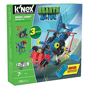 K'Nex Robo-Jaws Yapým Seti (Motorlu) Beasts Alive Knex 34406