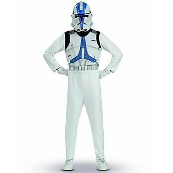 Clone Trooper Çocuk Kostümü (127-137 cm)