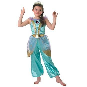 Prenses Jasmine Çocuk Kostüm 5-6 Yaþ Glitter
