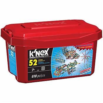 K'Nex 52 Farklý Model Building Set Knex 13465
