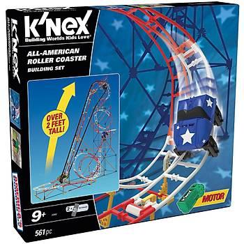 K'Nex All Star Adventure Roller Coaster Seti (Motorlu)Thrill Ride