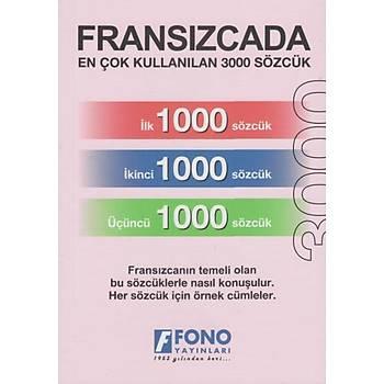 Fransýzcada En Çok Kullanýlan 3000 Sözcük  Fono Açýköðr.Kur. Yayýnlarý