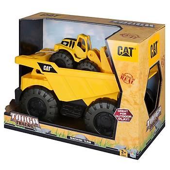 Cat Dump Truck Ýnþaat Araçlý Taþýyýcý Büyük Kamyon Model 1