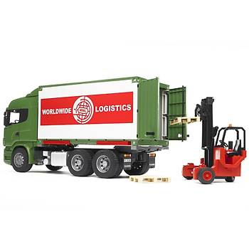 Bruder Scania R-Serisi Konteynir – Forklift Ýþ Makinasý
