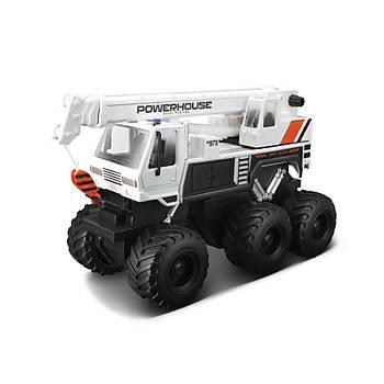Maisto Quarry Monster Mini Motorlu Vinç Ýþ Makinasý Beyaz