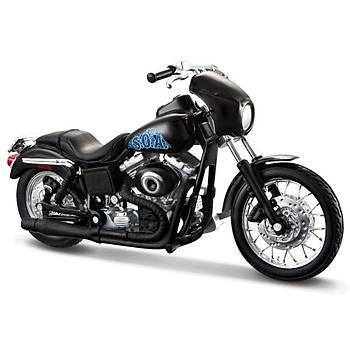 Maisto Harley Davidson Sons Of Anarchy Tig Trager Motorsiklet