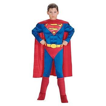 Superman Çocuk Kostüm Lüks 12-14 Yaþ